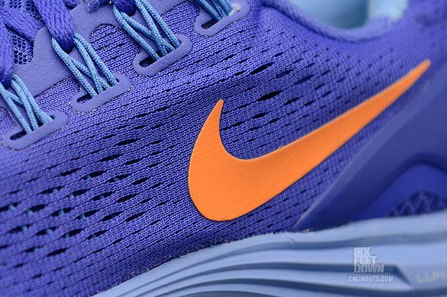 Nike Lunarglide 4 Violet Force Bright Citrus 1