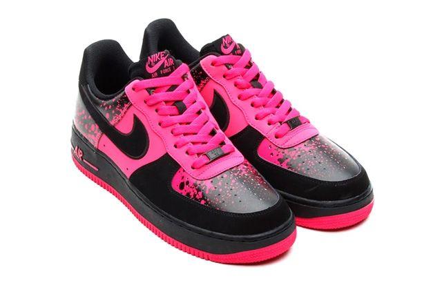 Nike Air Force 1 Low Pink Splatter 4