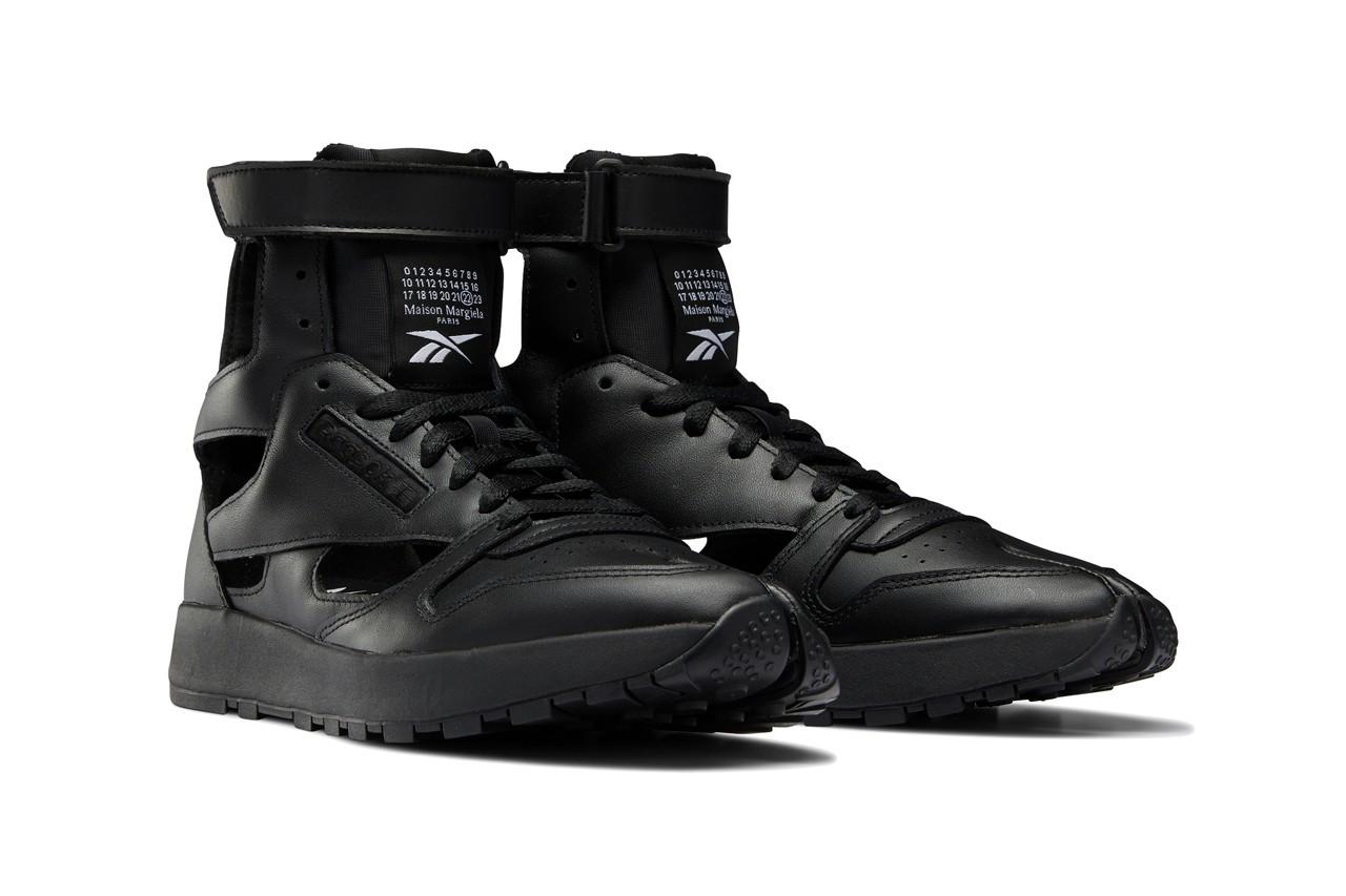 Maison Margiela x Reebok Classic Leather Tabi Black