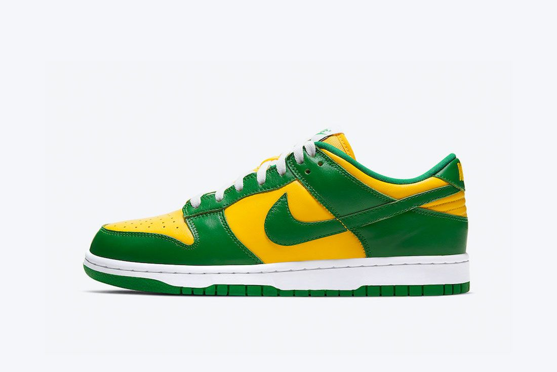 Nike Dunk Low Brazil 2020 Retro