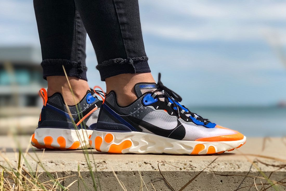 Nike Female Sneakers React 87 Yasmin