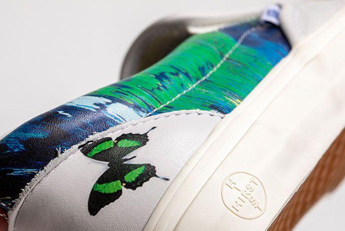 Damien Hirst Vans Vault Classic Slip On Butterfly Heel