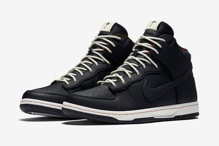 Nike Dunk Hi Black 1