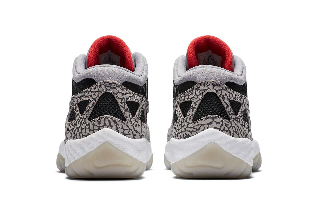 Air Jordan 11 Low IE 'Black Cement'