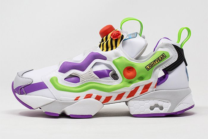 Bait Reebok Instapump Fury Toy Story 4 Buzz Lateral Solo