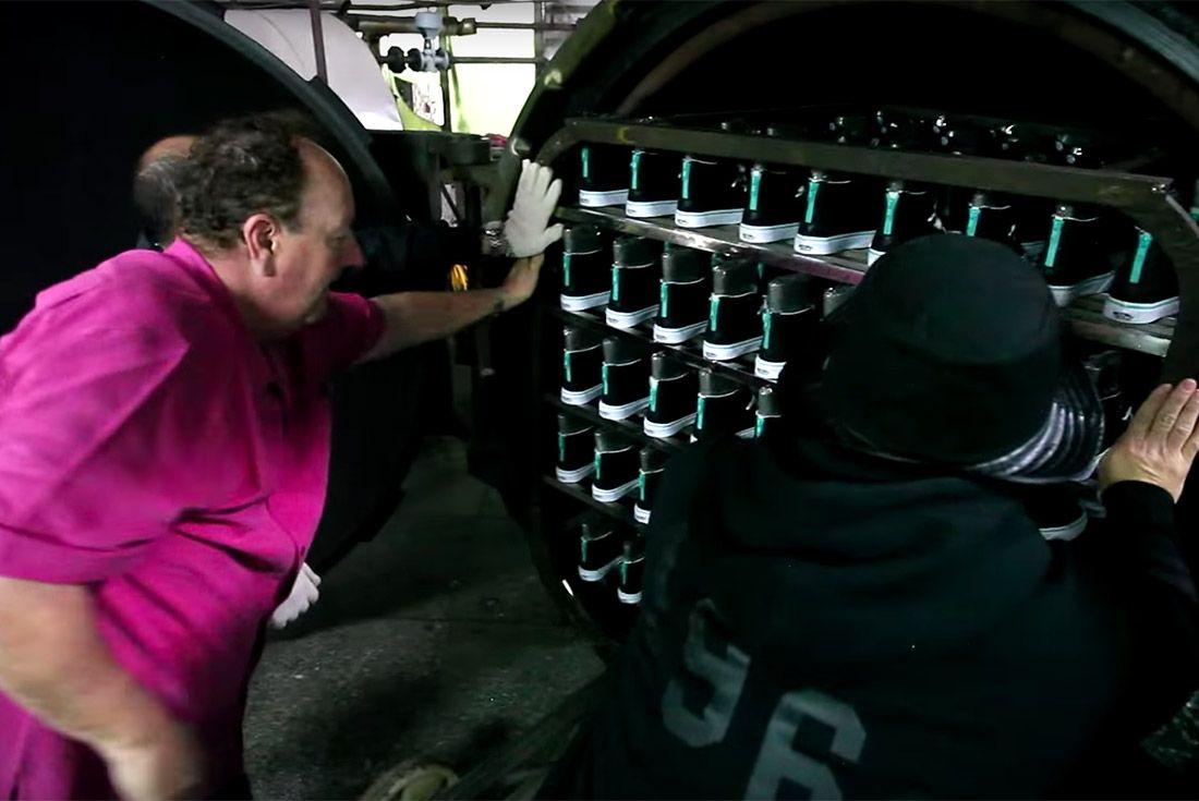 Material Matters Vans Vulcanising Oven
