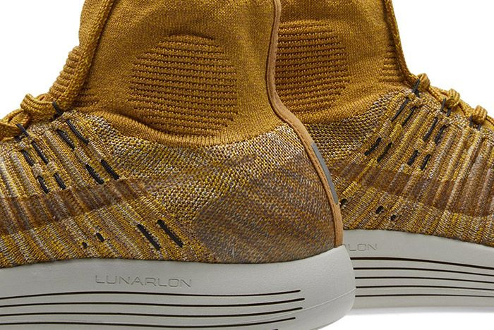 Nikelab Lunarepic Flyknit Golden Beige Brown 3