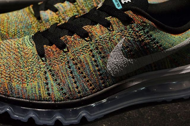 Nike Flyknit Air Max Multicolor 3