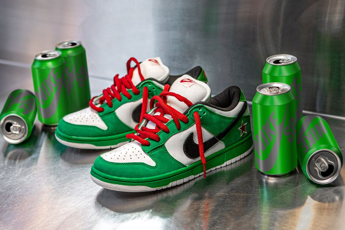 Nike SB Dunk Low Heineken