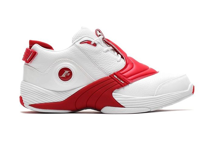 Reebok Answer V White Red 2019 Retro Dv6961 Release Date Lateral