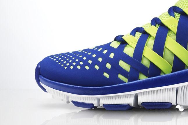 Nike Free Trainer 5 0 Volt Neon Toe Detail 1