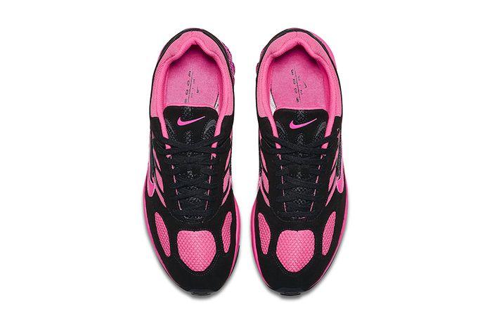 Nike Air Ghost Racer Black Pink Blast Cu1927 066 Release Date Top Down