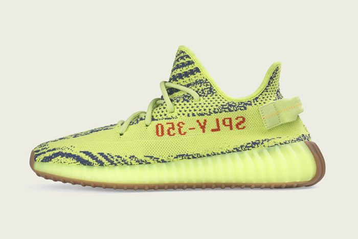 Adidas Yeezy Boost 350 V2 Semi Frozen Yellow 2019 Release Date Lateral