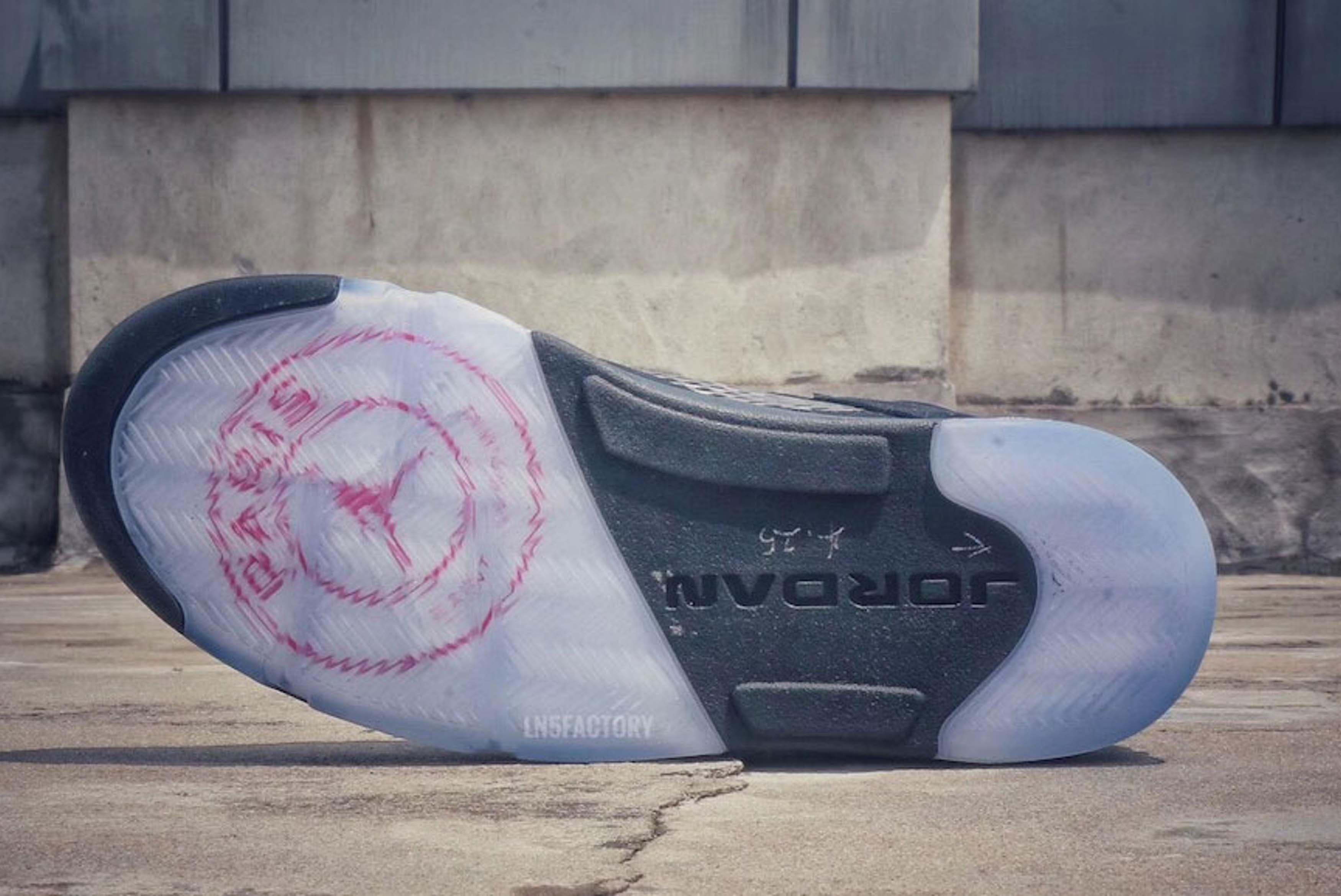 Air Jordan 5 Retro Paris Saint Germain First Look 6 Sneaker Freaker