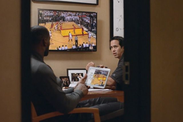 Lebron James For Samsung Always On Commercial 4