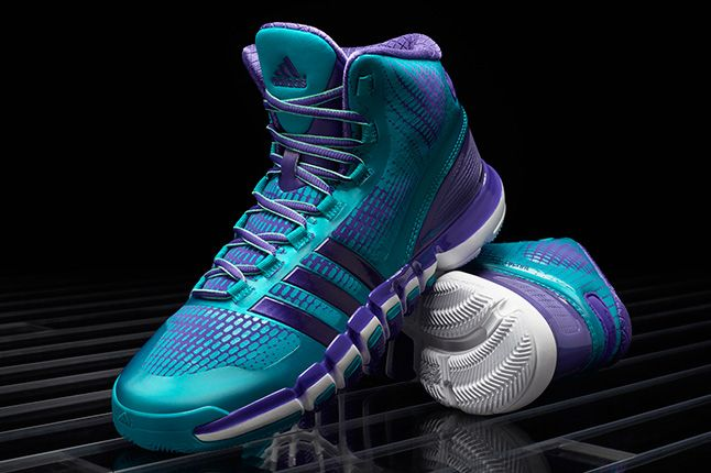Adidas Crazyquick Teal Purple Pair 1