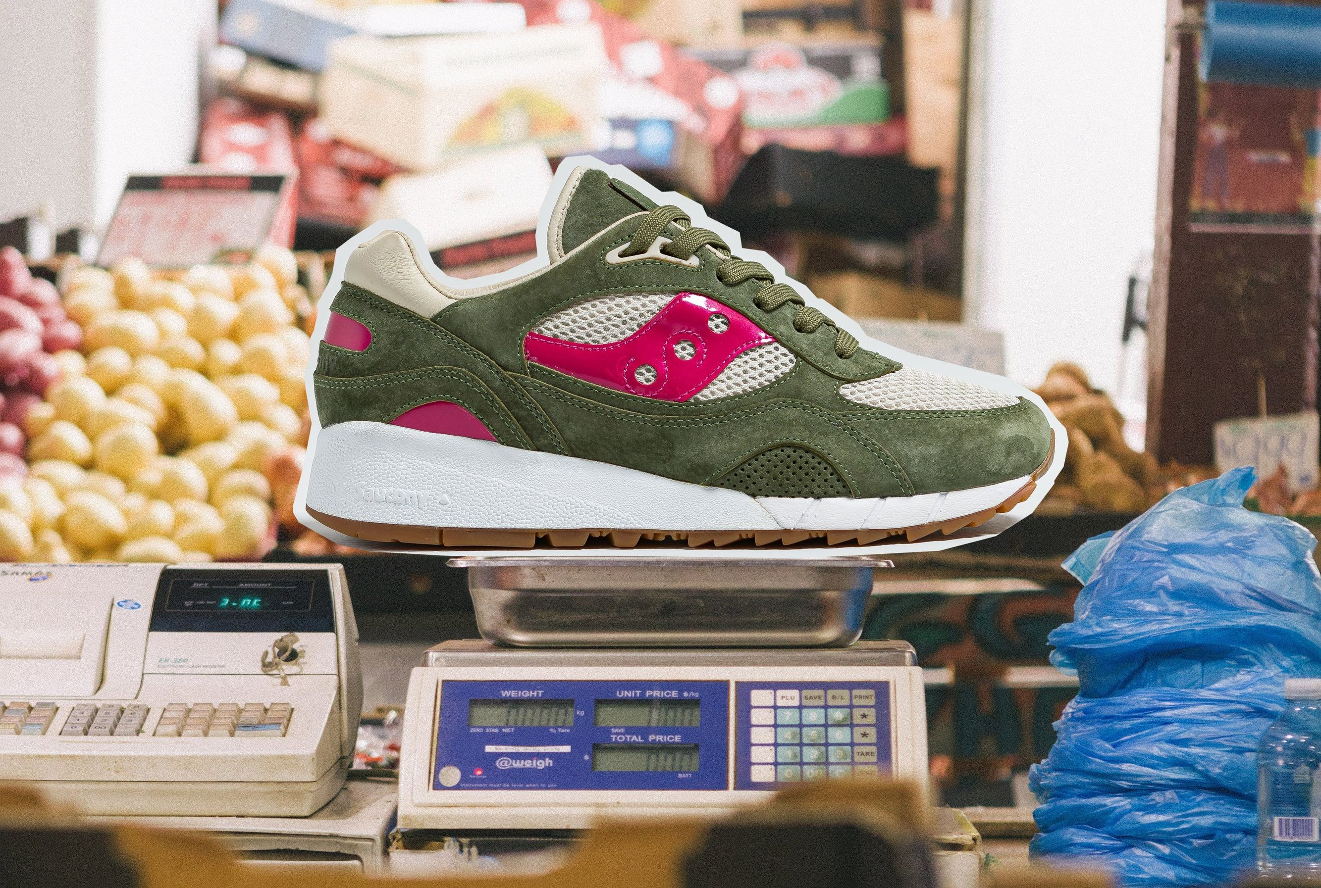 Up There x Saucony Shadow 6000 'Doors to the World'