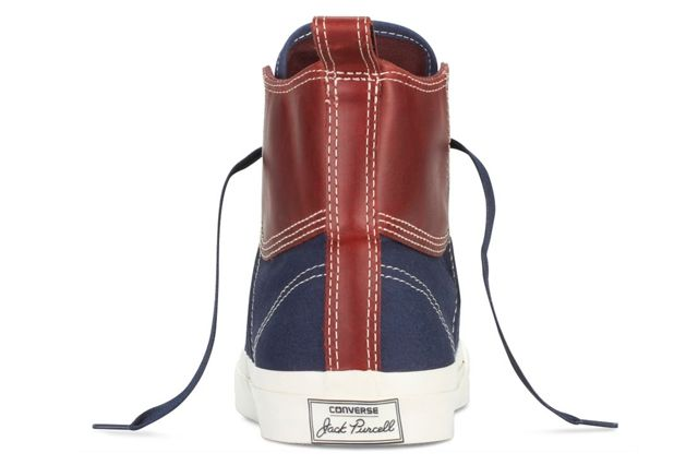 Converse Jack Purcell Duck Boot Navy Heel