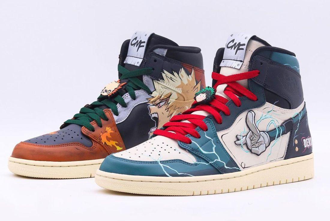 Air Jordan 1 Custom My Hero Academia
