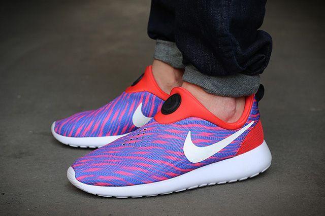 Nike Roshe Run Slip On Photo Blue Wave 1