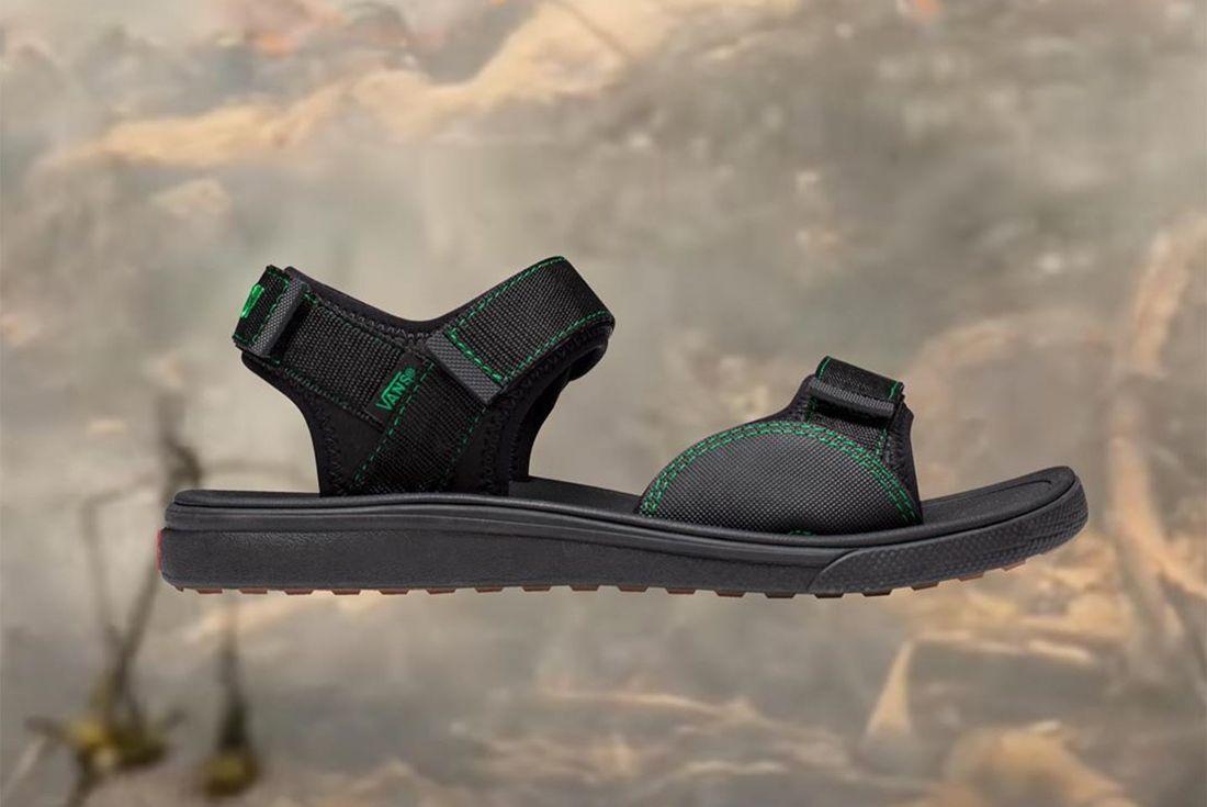 Sci-Fi Fantasy Vans Tri-Lock Sandal Right