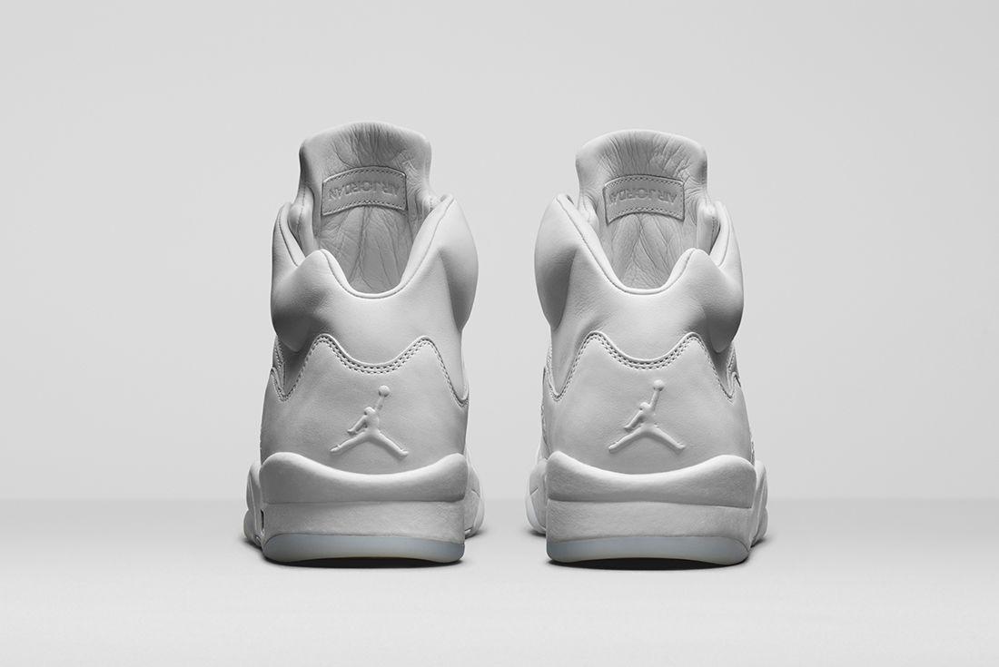Air Jordan 5 Take Flight Triple White5