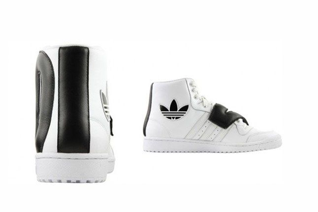 Adidas Originals By Jeremy Scott Js P Letters Leather Heel And Side 1