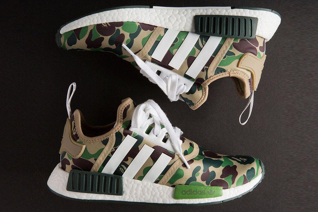Bape Adidas Nmd 1 St Camo Olive 4