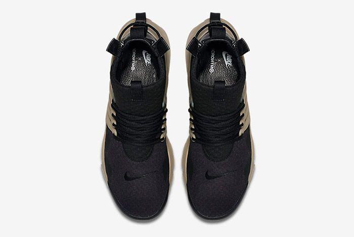 Acronym Nike Air Presto Mid Black Bamboo 3