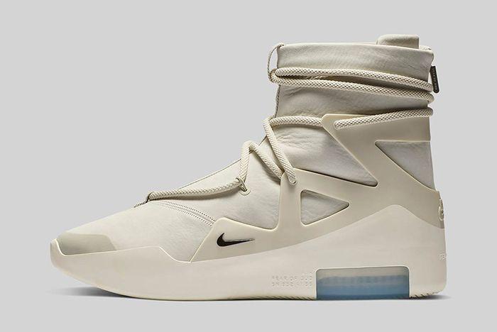 Nike Air Fear Of God 1 Light Bone Official 2