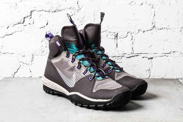 Nike Acg Lunar Icognito Mid Velvet Brown Metallic Silver 2