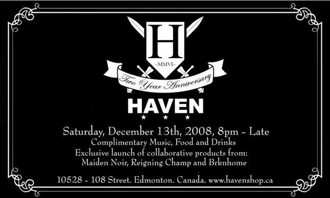 Haven Two Year Anniversary 2