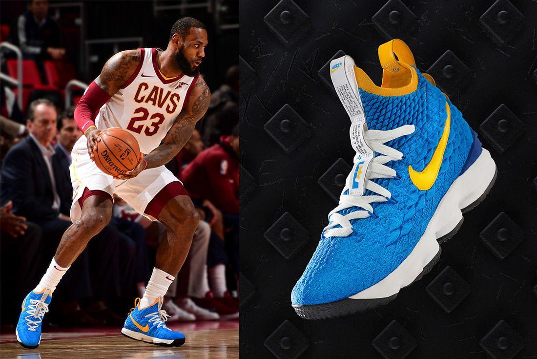 Nike Le Bron 15 Pe Waffle Racer Le Bron James Sneaker Freaker 1