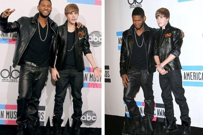 Shoe Surgeon Usher Justin Bieber 2 1