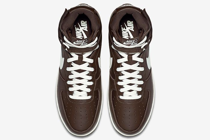 Nike Air Force 1 High Chocolate4