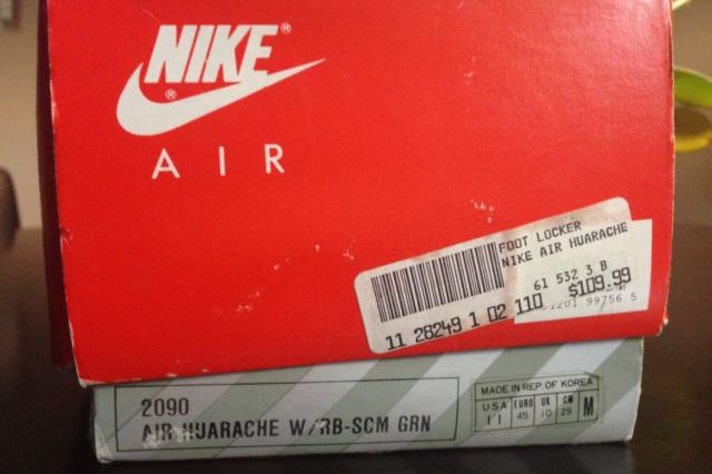 Original Nike Air Huarache Scream Green Available On Ebay 1