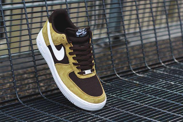 Nike Af1 Golden Tan 4