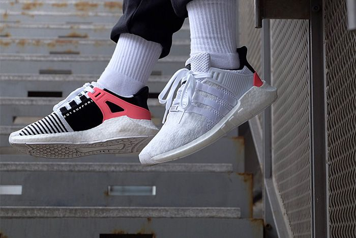 Adidas Eqt Support 9317 White Turbo Red 3