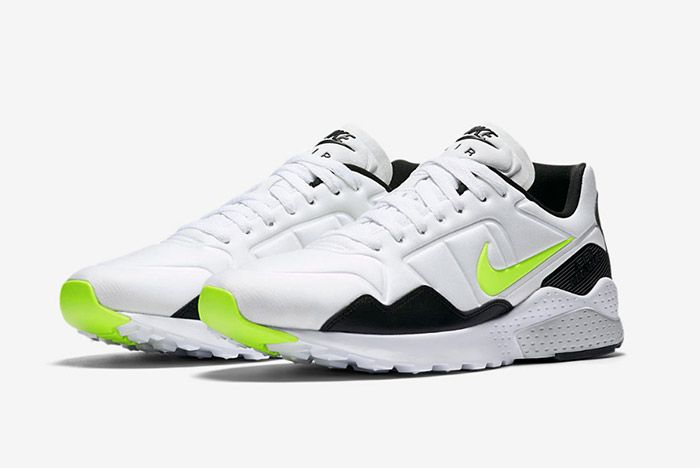 Nike Air Zoom Pegasus 92 White Black Volt 1