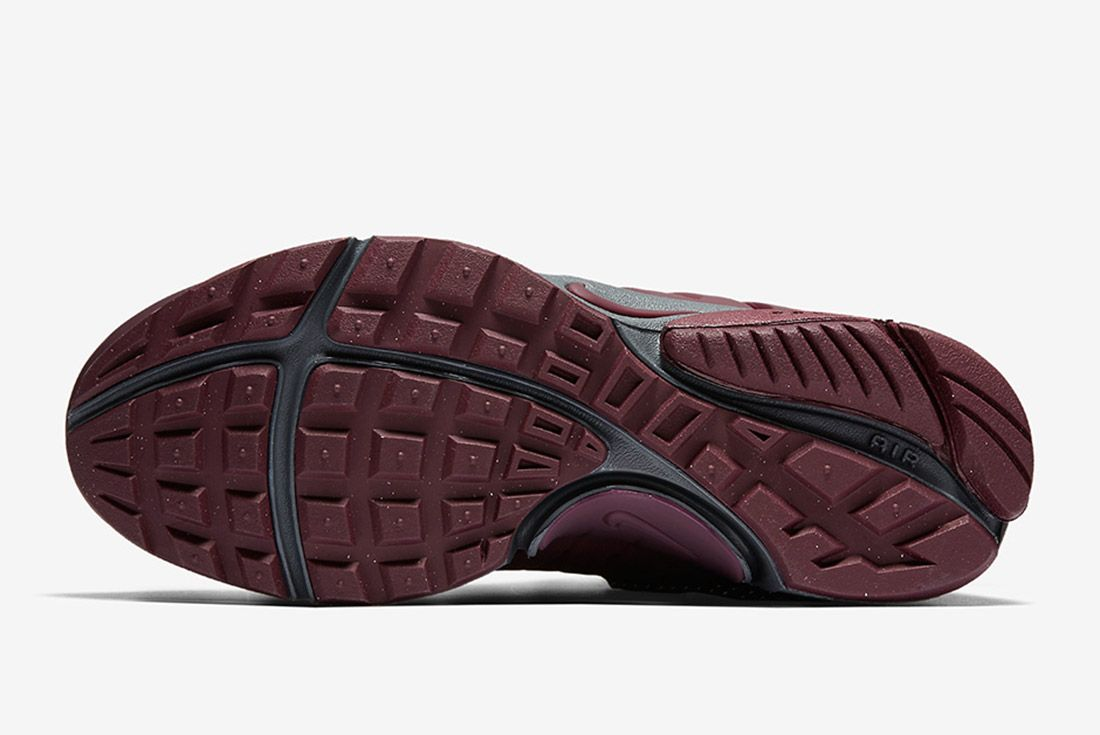 Nike Air Presto Mid Utility Burgundy 3
