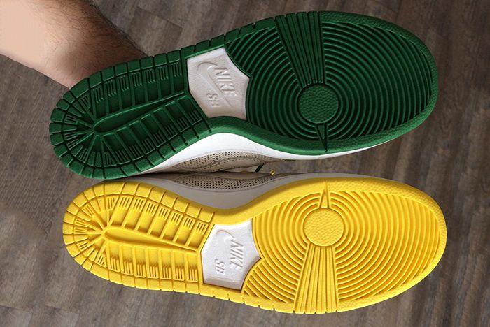 Ishod Wair Nike Sb Dunk Low Green Yellow 3 Sneaker Freaker