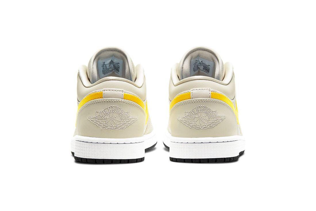 Air Jordan 1 Low Orewood Ck3022-107 Heel