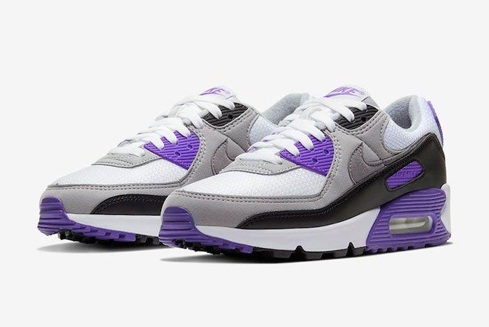 Nike Air Max 90 Hyper Grape Cd0490 103 Front Angle