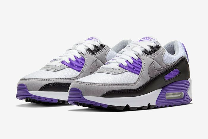 Nike Air Max 90 Hyper Grape Cd0490 103 Front Angle