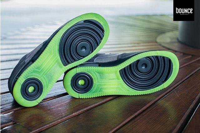 Nike Air Force 1 Vt Jacquard Grey Volt 8