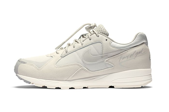 Fear Of God Nike Air Skylon Ii Light Bone Clear Reflect Silver Sail Bq2752 003 Release Date Lateral