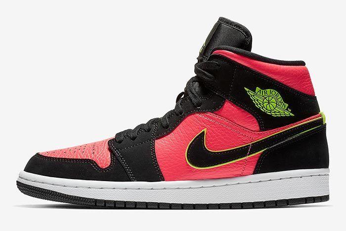 Air Jordan 1 Mid Hot Punch 1