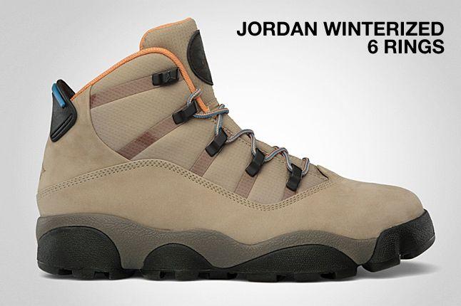 Jordan Winterized 6 Rings Khaki 1