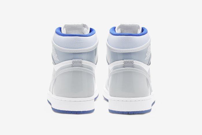 Air Jordan 1 High Zoom Racer Blue Heels