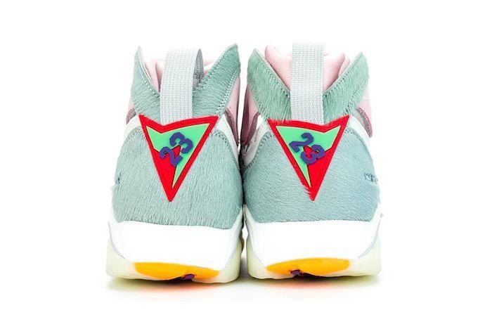 Air Jordan 7 Hare 2 0 Heels